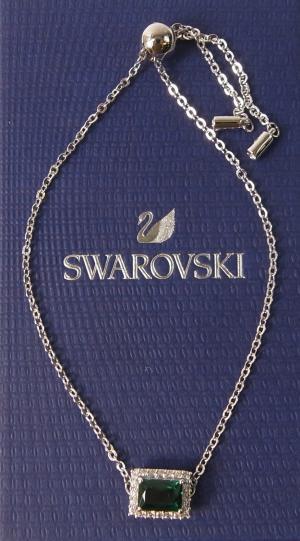 スワロフスキー ブレスレット バングル Angelic Rectangular エンジェリック レクタンギュラー