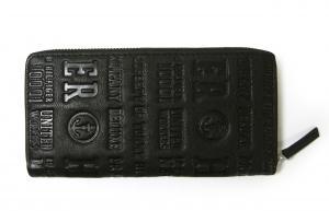 No.3 長財布 メンズ ラウンドファスナー(ブラック) EASTBOURNE