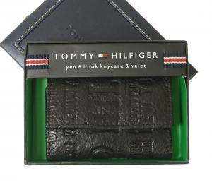 トミーヒルフィガー キーケース メンズ EASTBOURNE 6連(ブラック)