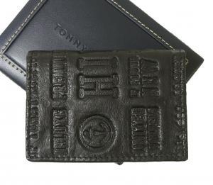 No.3 名刺入れ カードケース メンズ EASTBOURNE(ブラック)