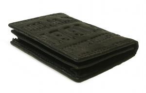 No.4 名刺入れ カードケース メンズ EASTBOURNE(ブラック)