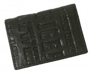 No.8 名刺入れ カードケース メンズ EASTBOURNE(ブラック)