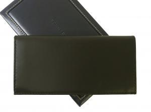 No.3 長財布 メンズ 二つ折(ブラック)HIGHLAND