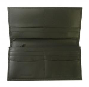 No.5 長財布 メンズ 二つ折(ブラック)HIGHLAND