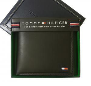 トミーヒルフィガー <訳あり・アウトレット>財布 メンズ 二つ折(ブラック)HIGHLAND