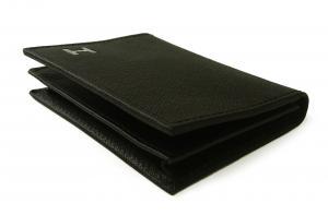 No.4 名刺入れ カードケース メンズ DUBLIN(ブラック)