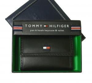 トミーヒルフィガー キーケース 6連 メンズ (ブラック)HIGHLAND