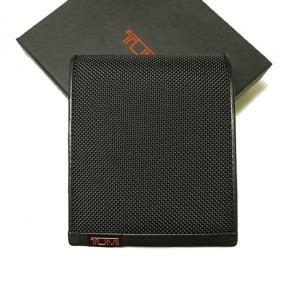 トゥミ 財布 ALPHA  二つ折り (ブラック) MainPhoto