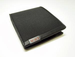 No.3 財布 ALPHA  二つ折り (ブラック)
