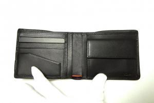 No.4 財布 ALPHA  二つ折り (ブラック)