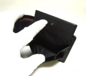 No.7 財布 ALPHA  二つ折り (ブラック)