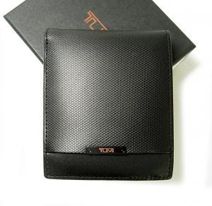 トゥミ 財布 メンズ  QUANTUM  二つ折り (ブラック) MainPhoto
