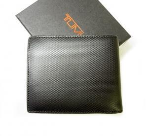 No.2 財布 メンズ  QUANTUM  二つ折り (ブラック)