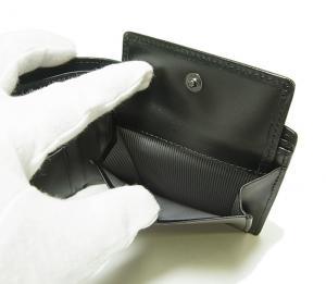 No.7 財布 メンズ  QUANTUM  二つ折り (ブラック)