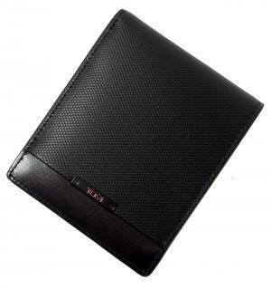 No.8 財布 メンズ  QUANTUM  二つ折り (ブラック)