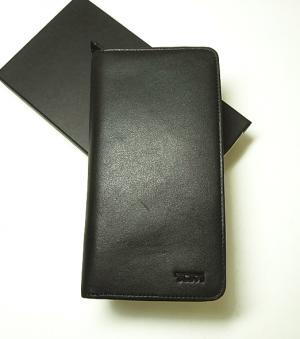 トゥミ 長財布 DELTA メンズ ジップアラウンド トラベル (ブラック) MainPhoto