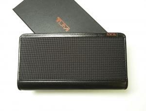 トゥミ 長財布 メンズ ジップ アラウンド トラベル (ブラック)
