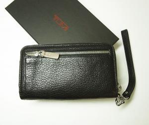 No.2 財布  リストレット ラウンドジップミニ 牛革 (ブラック)