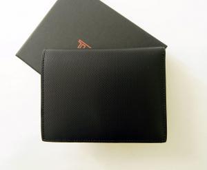 No.2 パスポートケース メンズ QUANTUM (ブラック)