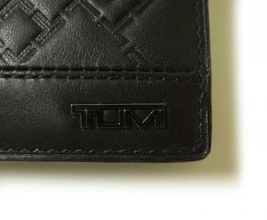 No.5 財布 メンズ TICON 二つ折り (ブラック)