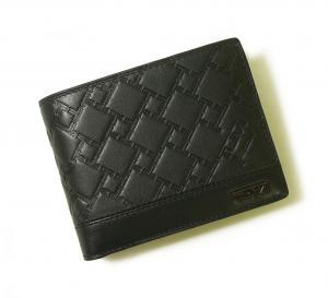 No.8 財布 メンズ TICON 二つ折り (ブラック)