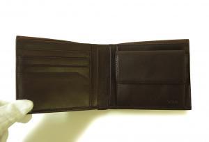 No.5 財布 メンズ (ブラウン) レザー RIVINGTON 二つ折り