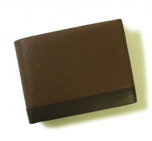 No.8 財布 メンズ (ブラウン) レザー RIVINGTON 二つ折り