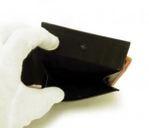 No.5 財布 メンズ ALPHA 二つ折り (グレー)