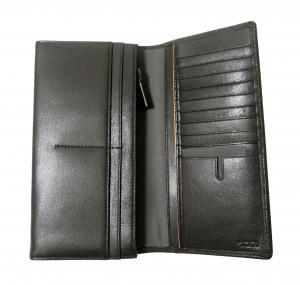 No.4 長財布 メンズ ブレストポケットウォレット (ブラック) チャンバー