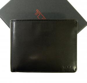 トゥミ 財布 メンズ (ブラック) チャンバー 二つ折