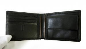 No.4 財布 メンズ (ブラック) チャンバー 二つ折
