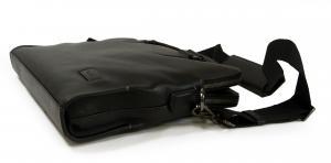 No.4 ブリーフケース ビジネスバッグ スリム ブラック ハリソン セネカ