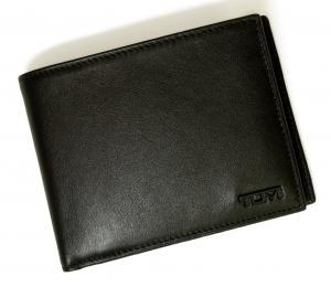 No.7 財布 DELTA メンズ 二つ折り (ブラック)
