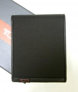 トゥミ 財布 メンズ ALPHA 二つ折り(ブラック)バリスティックナイロン