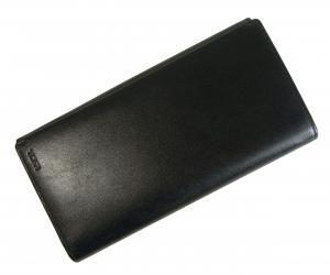 No.7 長財布 NASSAU メンズ 二つ折(ブラック)BREAST POCKET WALLET