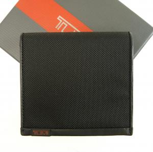 トゥミ 財布 メンズ ALPHA 三つ開き(ブラック)バリスティックナイロン
