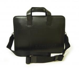 テストーニ ブリーフケース ビジネスバッグ ナッパカーフレザー (ブラック)