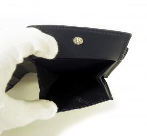No.6 財布 メンズ 二つ折 ナッパカーフ レザー (ネイビーブルー)