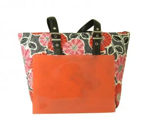 No.7  <訳あり・アウトレット>Be Colorful Tote  ビーカラフルトートバッグ(Cherry Blossoms)