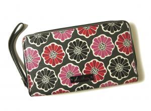 ヴェラ・ブラッドリー 長財布 Large Zip-Around Wallet リストレット *大きめサイズ