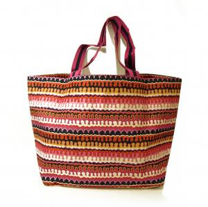 No.2 トートバッグ ラージファミリー Large Family Tote(Rio Squiggle)