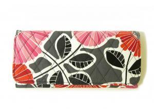 ヴェラ・ブラッドリー 財布 Trifold トリフォールドウォレット(Cherry Blossoms)