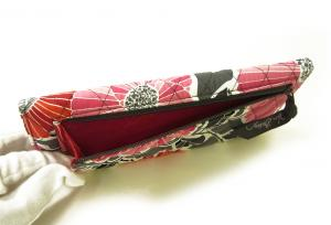 No.5 財布 Trifold トリフォールドウォレット(Cherry Blossoms)