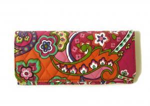 ヴェラ・ブラッドリー 財布 Trifold トリフォールドウォレット(Pink Swirls)