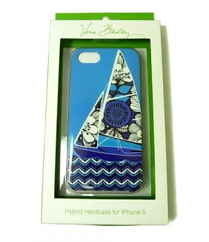 ヴェラ・ブラッドリー Whimsy Hybrid Hardshell Case iPhone5ケース(Blue Bayou)