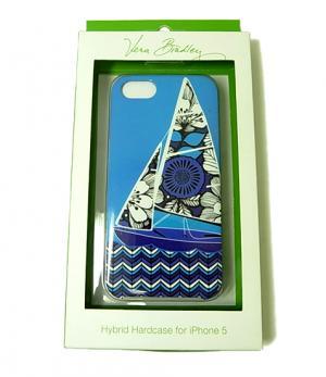 ヴェラ・ブラッドリー Whimsy Hybrid Hardshell Case iPhone5ケース(Blue Bayou)