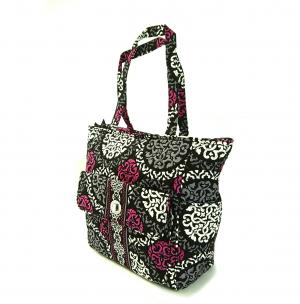 No.2 トートバッグ フロントポケット Tablet Tote (Canterberry Magenta)