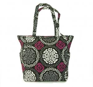 No.3 トートバッグ フロントポケット Tablet Tote (Canterberry Magenta)