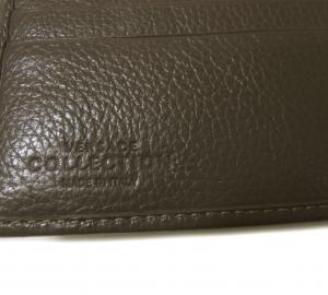 No.5 財布 メンズ 二つ折 ヴェルサーチコレクション ソフトカーフ