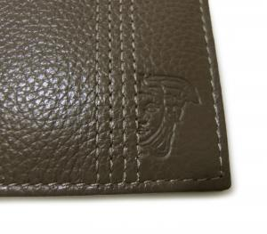 No.7 財布 メンズ 二つ折 ヴェルサーチコレクション ソフトカーフ